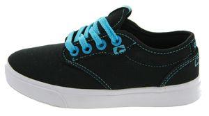 Globe Motley Kids Sneaker schwarz, Groesse:32.5