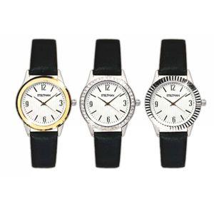 Damen Armbanduhr inkl. 3 Wechselrahmen Damenuhr Frauen Uhr Analog Quartzuhr Kunstleder Armband Damenarmbanduhr