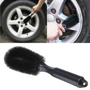 Schwarz Felgenbürste Waschbürste Reinigungsbürste für Auto Reifen Felgen
