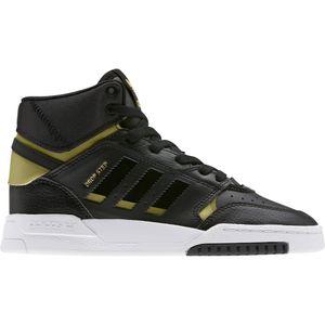 Adidas Drop Step Jugendlische Sports Sneaker Turnschuhe High-Top Schwarz 38 2/3