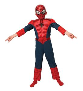 RUBIE'S Faschingskostüm - Ultimate Spiderman Metallic Deluxe, Größe: S