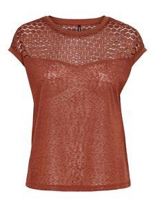 T-Shirt New Rie, Größe:S, Farbe:Rot