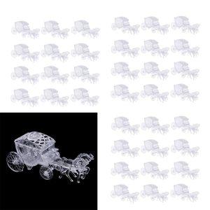 36x Kutsche Form Kristall Geschenkkasten Pralinenschachteln Set