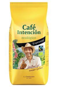 Café Intención ecológico Espresso | Fairtrade | ganze Bohne | 1000g