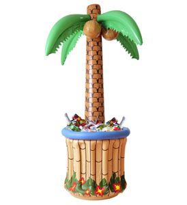 Palme mit aufblasbarem Getränkekühler 182 cm