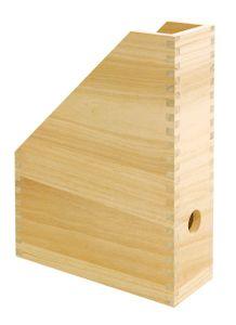 VBS Holz-Stehsammler Stehordner Organizer 25x9x30,5cm