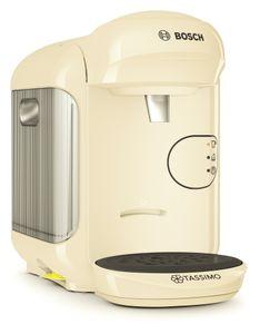 Bosch Tassimo Vivy 2 + 20 EUR Gutscheine* Heißgetränk Kaffee Maschine , Farbe:Creme