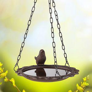 Vogeltränke aus Gusseisen - hängend - 20,5x 19x36,5cm