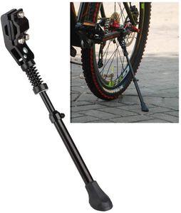 Universal Fahrradständer Seitenständer Unterstützung  Höhenverstellbarer Aluminiumlegierung verstellbar Parkstütze für 20-26Zoll