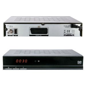 Digitaler Satelliten-Receiver, Free to Air (FTA), SCART, Display, EPG, DVB-S USB