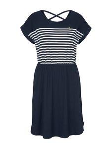 Tom Tailor jersey mini dress 10668 Sky Captain Blue S