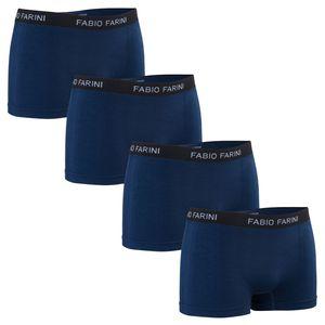 4er Pack Fabio Farini Herren Boxershorts - nahtlos in vielen Farbkombinationen, Größe:L, Farbe:Set 26