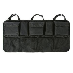 """Autositzlehne Veranstalter Reise Multi Tasche Halter Sack,Farbe: Schwarz(Upgrade,Größe:108x52cm/42.52x20.47"""""""