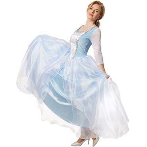 dressforfun Frauenkostüm Edles Prinzessinnenkleid Cinderella - M