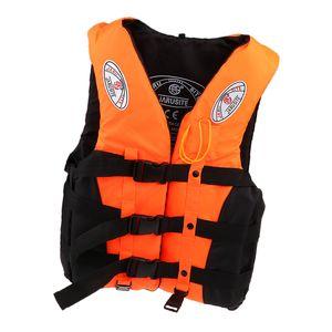 Hochwertige Erwachsene Rettungsweste / Schwimmweste, Auffällige Farben Auswählbar Farbe Orange