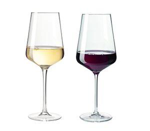 Leonardo Weinglas 12er Set PUCCINI Rotwein 6er Set und Weißwein 6er Set Gläserset 069554 + 069553