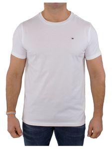 Tommy Hilfiger Herren Ikonen-T-Shirt, Weiß XL