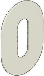 Schlüsselrosetten-Paar 306PBM/PBMNR /PBVMNR Ku.90m Schildst.1,5mm WC/FBM rd.