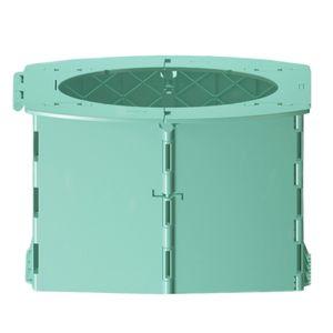 Faltbare Reise WC  kinder Campingtoilette Eimertoilette tragbare Outdoor Toilette Toilettenstuhl für Camping, Wandern, Ausflüge, Stau
