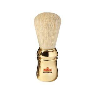 Omega Rasierpinsel reine Borste 20480 mit goldenem Griff