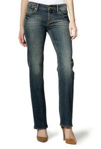 Mustang Emily Damen Jeans, Size: W31 L34 / Heavy Used Wash / Straight Leg, Größe*:W31 L34
