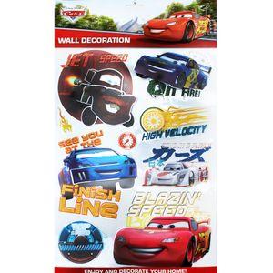 Disney 3D Wandtattoo Kinderzimmer Dekoration Wandsticker Wandaufkleber Cars