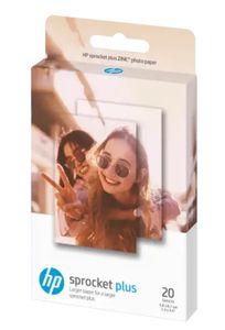 HP Sprocket 2.3 x 3.4 in (5.8 x 8.7 cm) Fotopapier-20 Blatt für Sprocket Plus