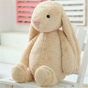 braun Hase Puppe Kind Plüschtiere Kissen Süßer Hase Weiches Plüschtierkaninchen Ausgestopftes Tier Kindergeschenk