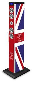"bigben Sound Tower TW9 - Union Jack ""Keep calm""; AU343403"
