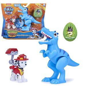 Dino Rescue Action Pack | Set mit Spielfigur und Dinosaurier | Paw Patrol, Figur:Marshall