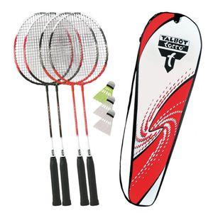 Talbot-Torro Badminton-Set 4-ATTACKER Set im Thermobag