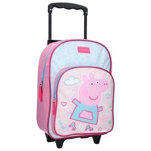 Nickelodeon trolley-Rucksack Peppa Pig38 x 28 x 16 cm rosa