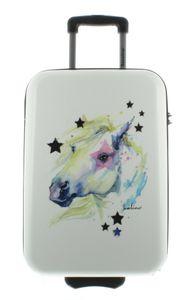 Saxoline Koffer Handgepäck mit Zahlenschloss Gr. S, 54 cm, Horse