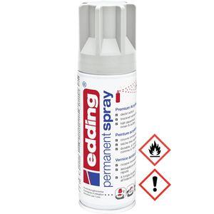 Edding Permanent Spray Premium Acryllack in lichtgrau matt 200ml