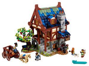 LEGO Ideas Mittelalterliche Schmiede - 21325, Bausatz, Junge/Mädchen, 18 Jahr(e), 2164 Stück(e), 2,44 kg
