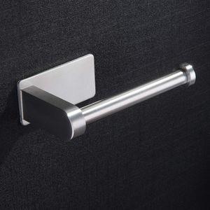Toilettenpapierhalter Selbstklebend Ohne Bohren Klorollenhalter Klopapierhalter Edelstahl Gebürstet WC Papier Halterung