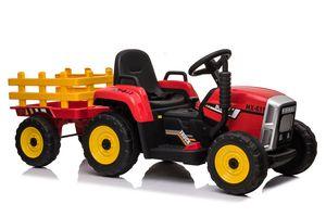Kinder Elektroauto Traktor Anhänger Kinderauto Kinderfahrzeug Elektro 12V USB MP3