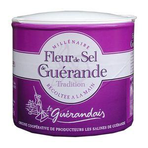 Le Guerandiais Fleur de Sel Guerande weißes Meesalz 125g 3er Pack