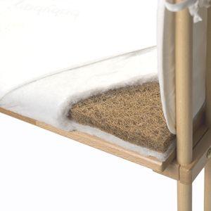 babybay Matratze mit abnehmbarem Klima-Bezug, Öko, Maxi & Boxspring