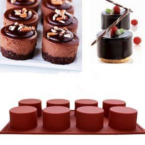 Kuchenform Seifenform Runde Flexible Silikon-Keksform Süßigkeiten-Schokoladenform