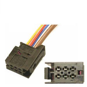 Passend für Audi A1 & Q3 Rücklicht Stecker Kabelstecker Kabelbaum Kabelbaum Reparatur Vorverkabelung 6Q0937702
