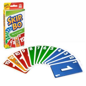 1x Kartenspiel Skip Bo(144 Zahlenkarten und18 Skip-Bo Joker.)