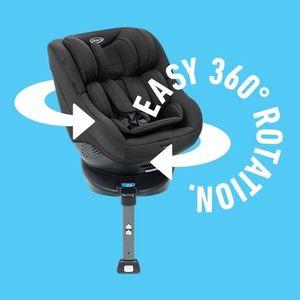 Graco Turn2Me Kindersitz ECE-Gruppe 0+/1, Design:black