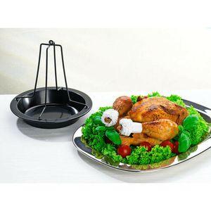 Hähnchenbräter Hähnchenhalter Hähnchengriller Brathähnchen Halter Grill Ofen