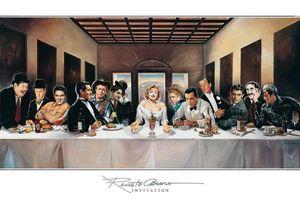 Renato Casaro - Invitation Kunstdruck 100x70cm.