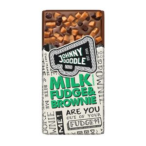 Johnny Doodle - Milk Fudge & Brownie - 150g
