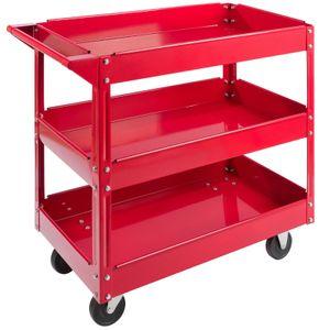 AREBOS Rollwagen Werkstattwagen 3 Fächer - direkt vom Hersteller