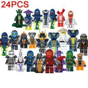 24 Stück  Ninjago  Mini Figuren Gebäude Spielzeug SPIELZEUG KIND  Geschenk,Sonstige Spielzeugfiguren