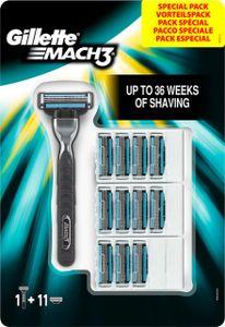 Gillette Mach3 Systemklingen 11er + Rasierer gratis