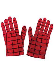 Offizielle Spiderman-Handschuhe für Kinder rot-schwarz